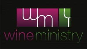 Wine Ministry Logo Black Background