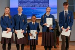 IB Awards Assembly 2017 - Category Winners