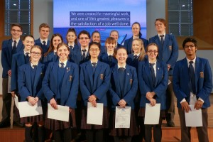 IB Awards Assembly 2017 - Merit Winners
