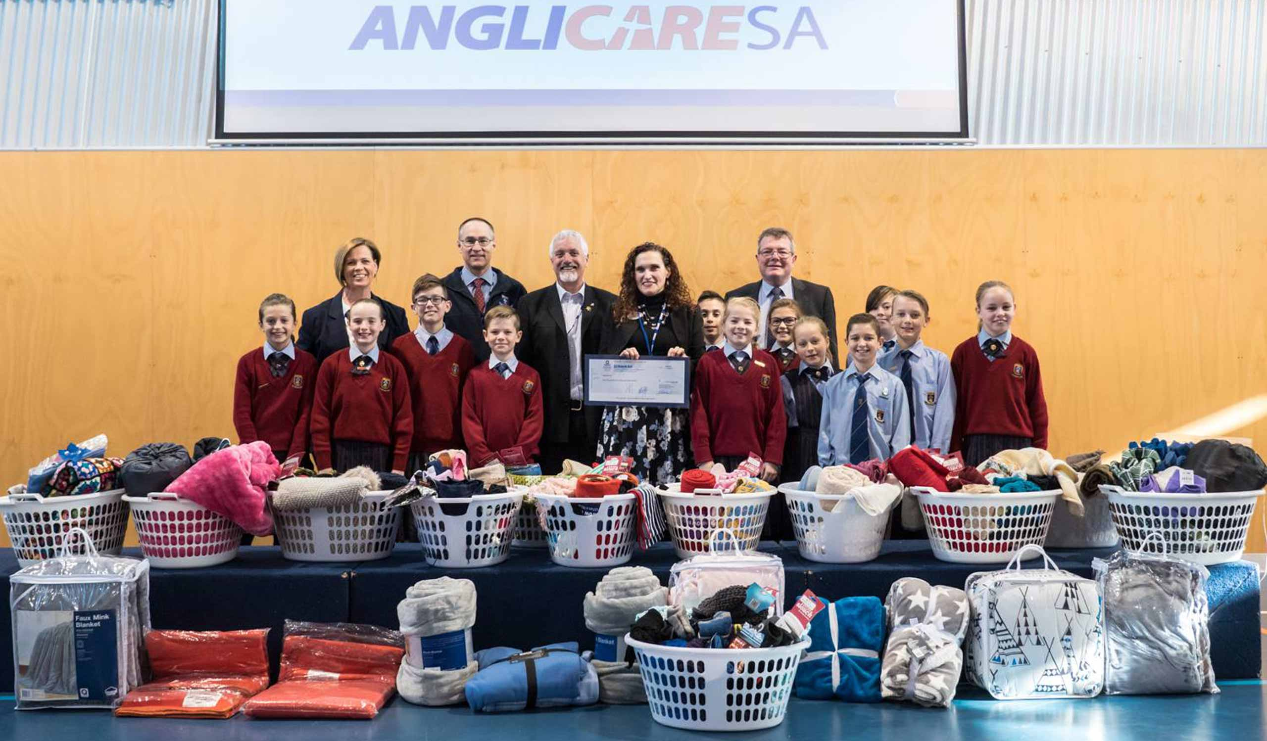 Pedare Anglicare SA Winter Warmth Appeal 2017
