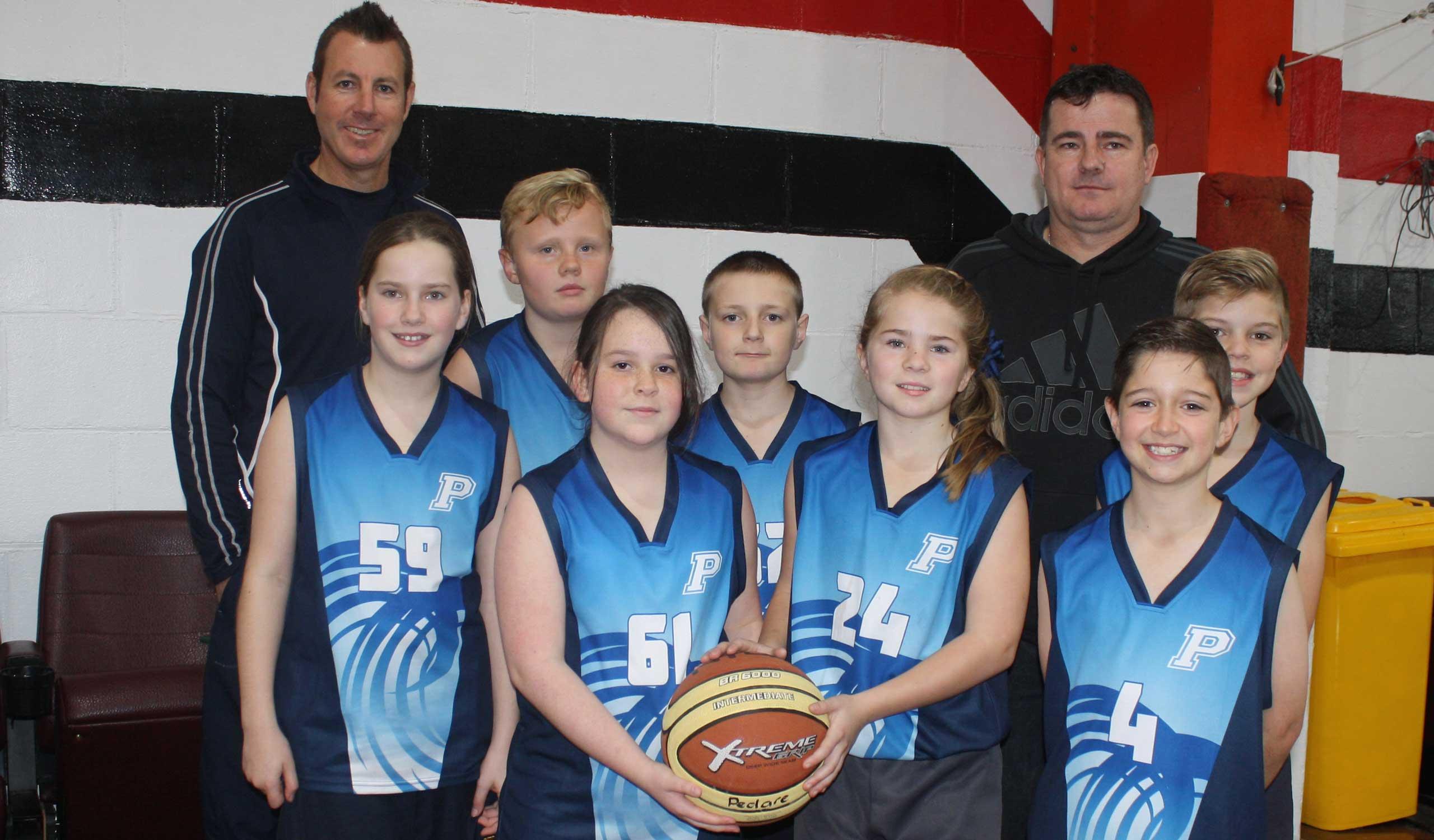 Year 4 5 Basketball