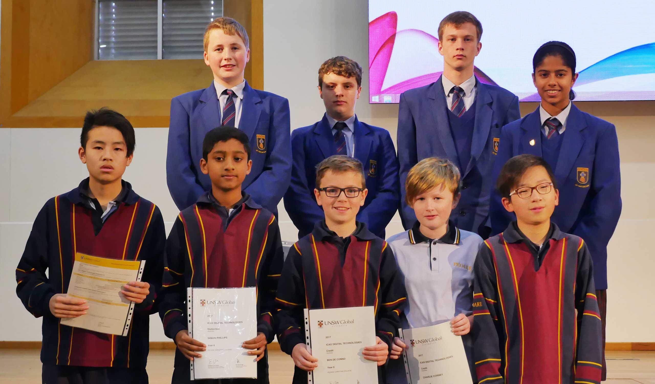 ICAS winners