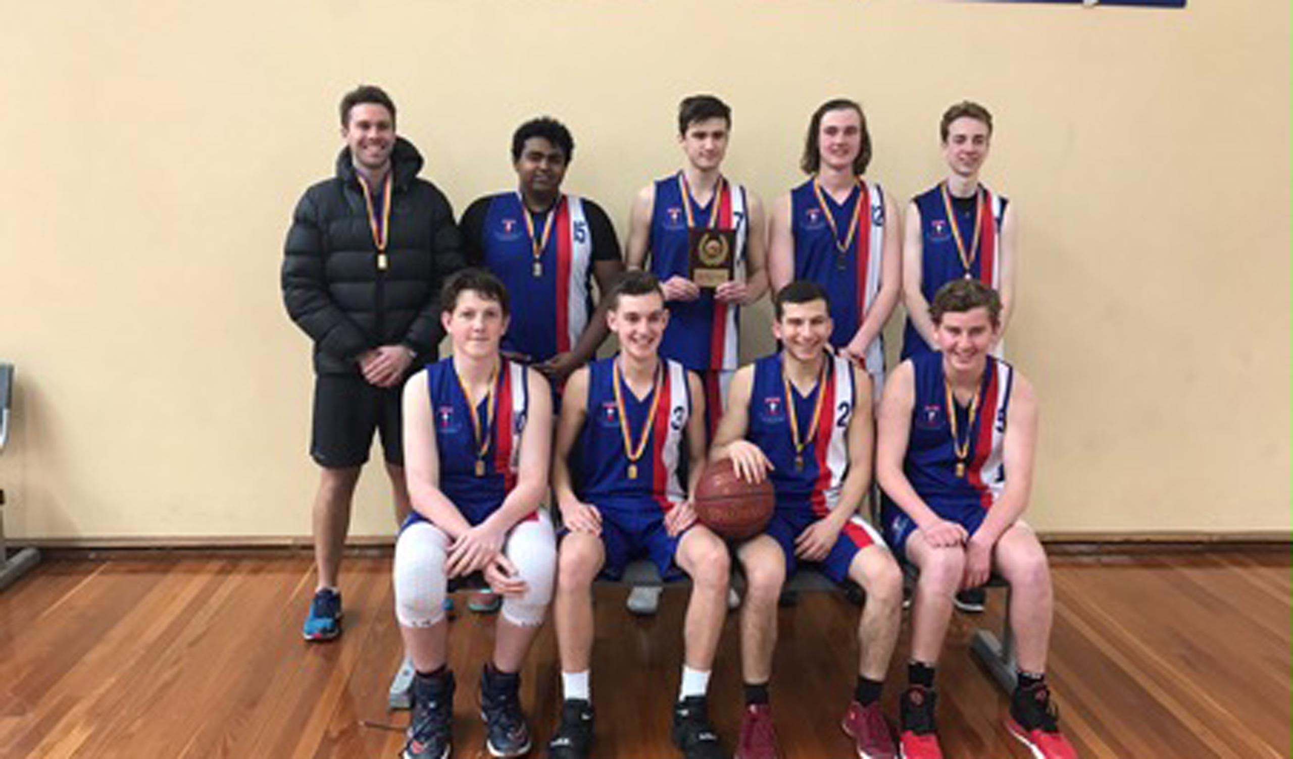 Open Boys basketball
