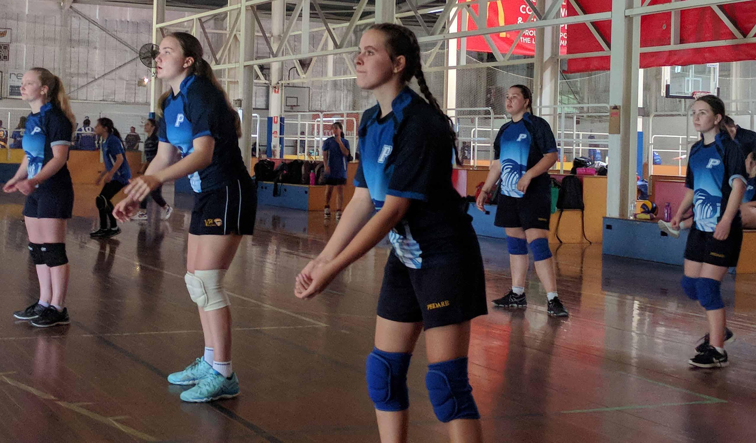 Volleyball 8 9 KO Girls at Marden