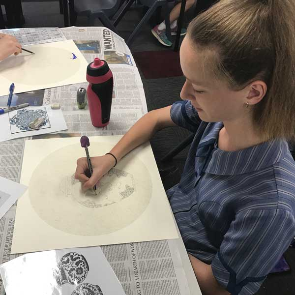 Year 8 Chinese porcelain painting-workshop-4-EMMA-N