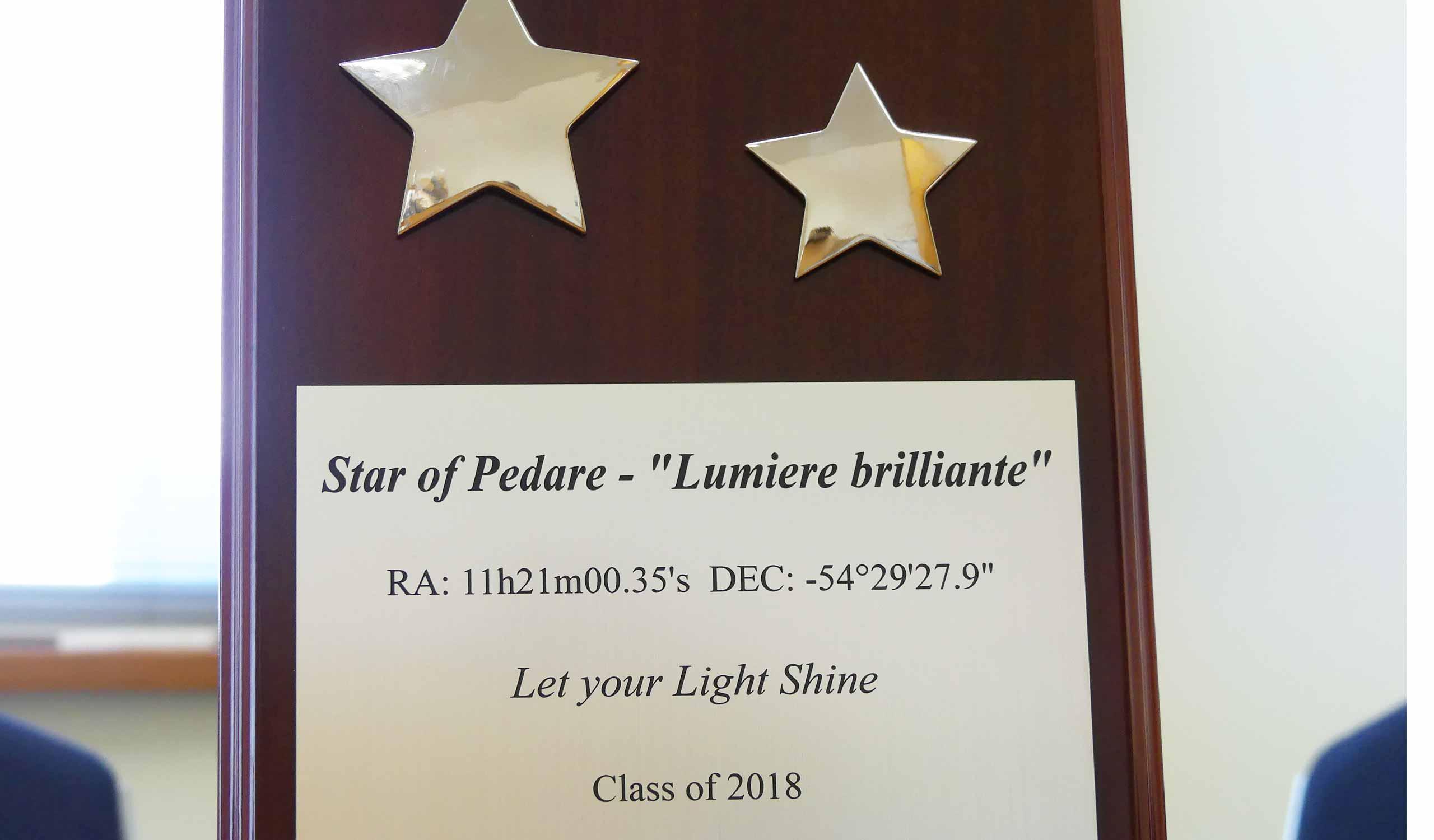 Star-of-PedareStar-of-Pedare