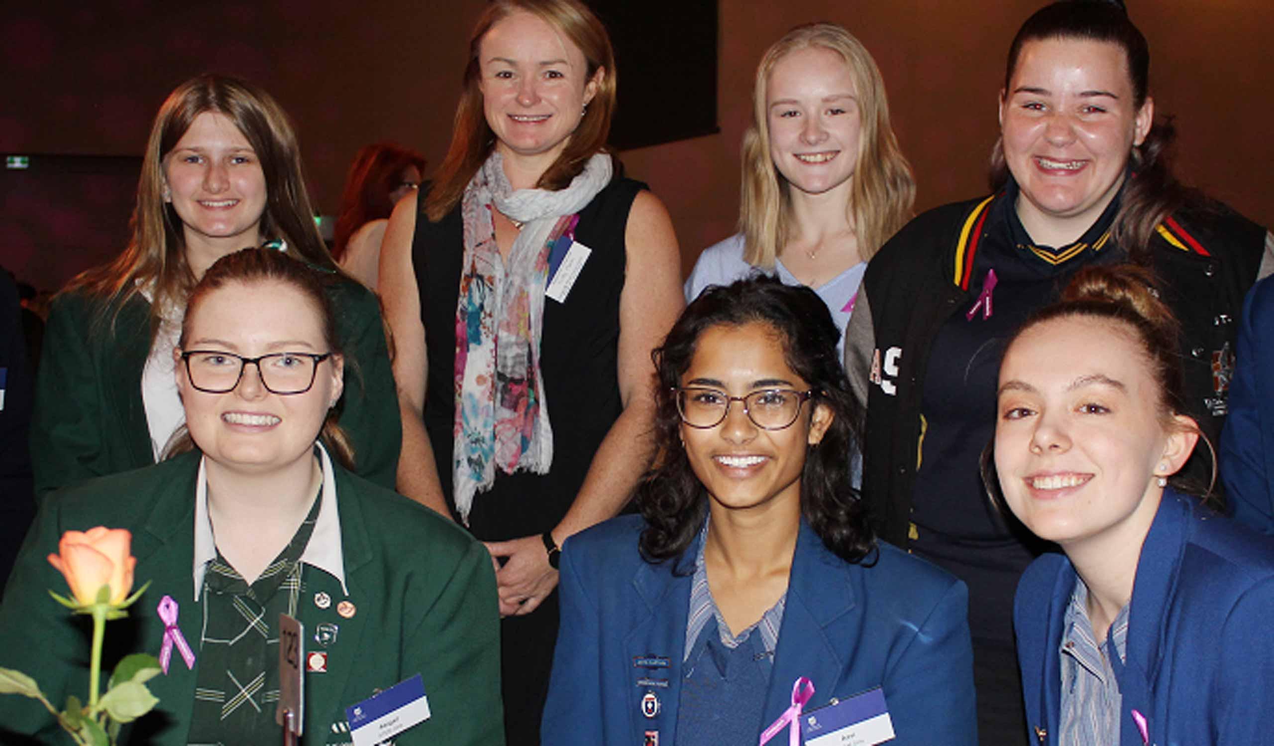 Uni-AProf-Sally-Plush-with-2018-STEM-Girls-email