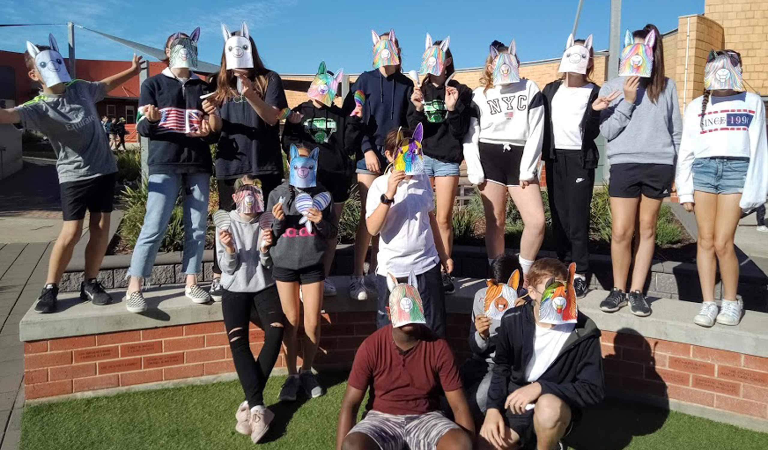 Year-7-Alpaca-Masks