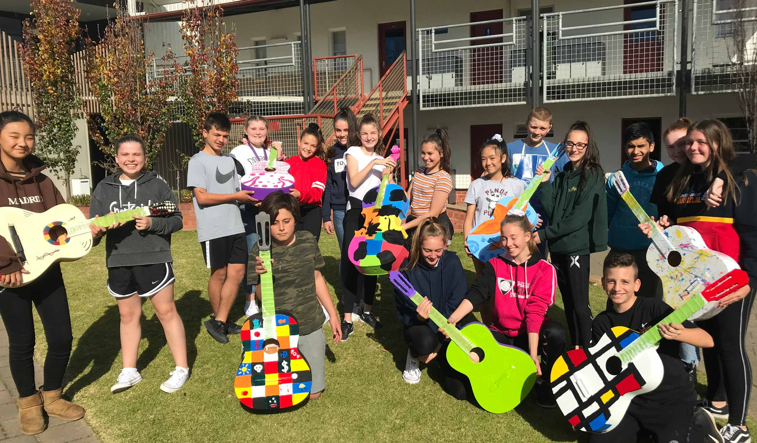 Year-7-G-Guitar-Art-Project-1